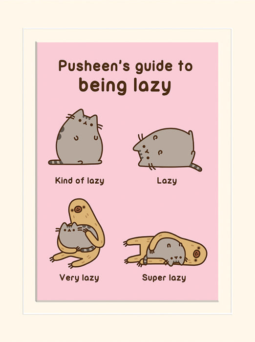 Pusheen (Guide to Being Lazy)