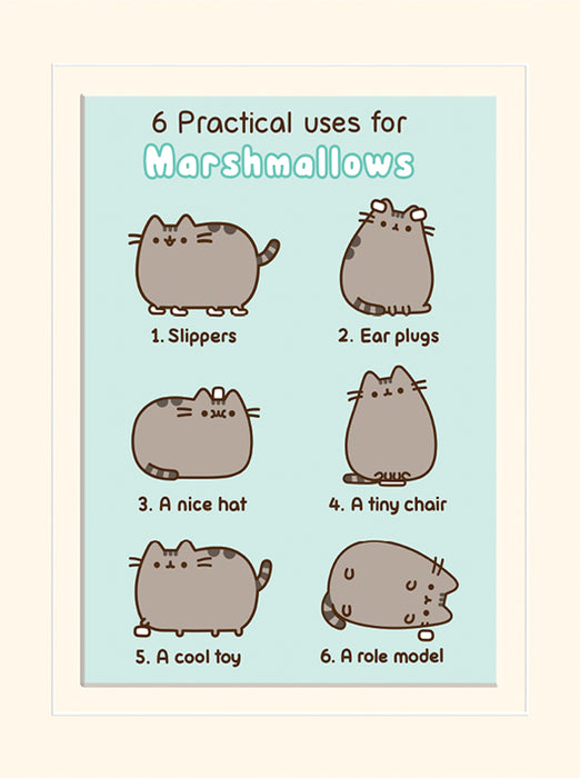Pusheen (Practical Uses for Marshmallows)