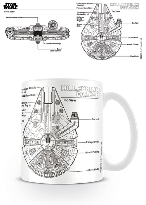 Star Wars (Millennium Falcon Sketch)
