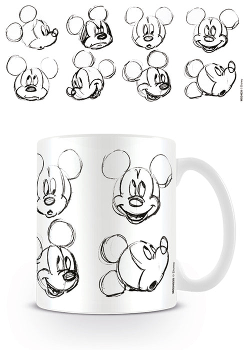 Mickey Mouse (Sketch Faces)