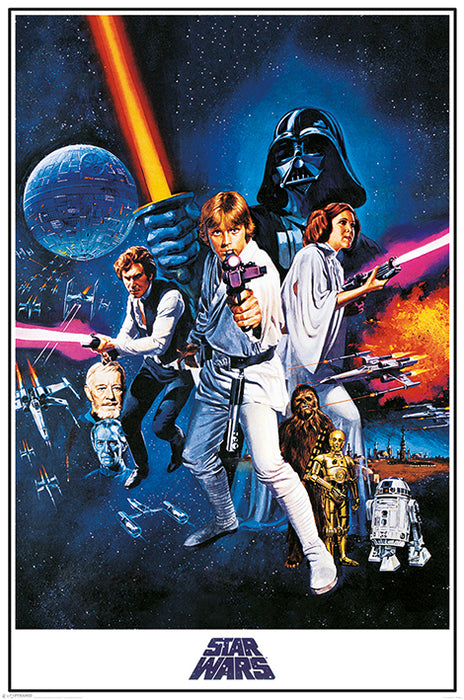 Star Wars A New Hope (One Sheet)