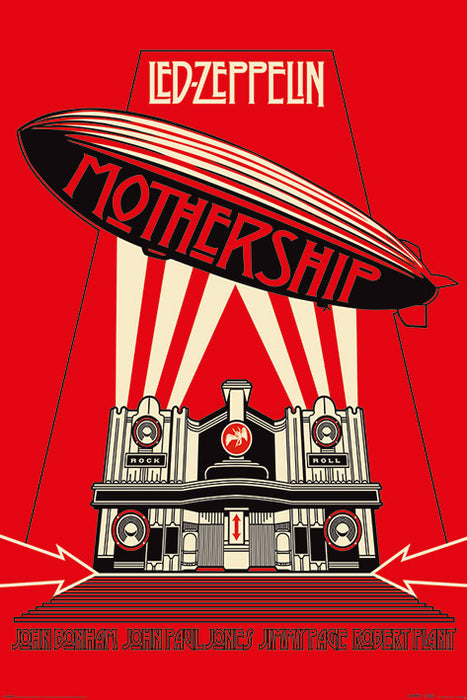 Led Zeppelin (Mothership Red)