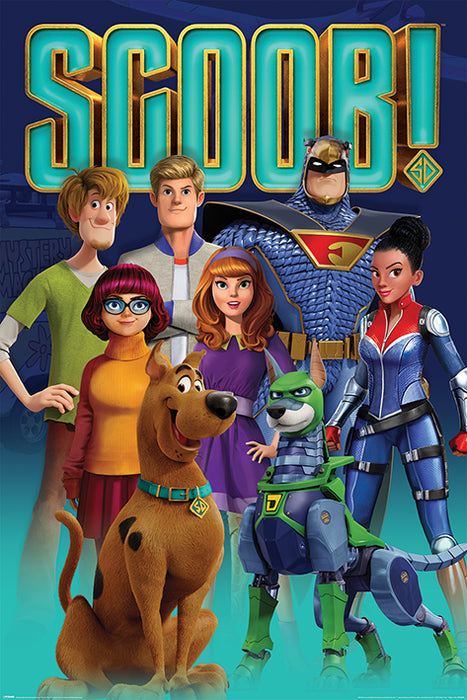 Scoob! (Scooby Gang and Falcon Force)