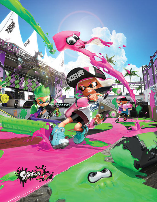 Splatoon 2 (Game Cover)