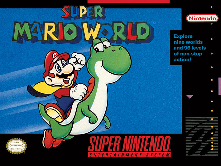 Super Nintendo (Super Mario World)
