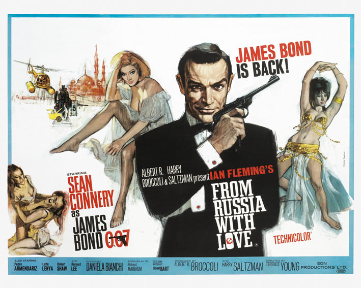 James Bond (From Russia With Love - Painting)