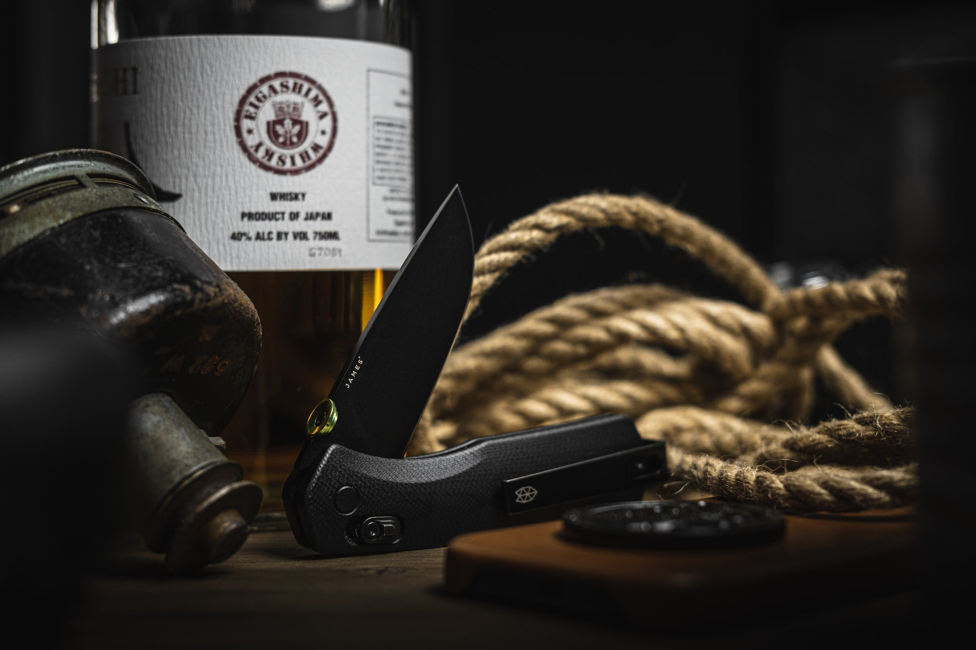 The Carter knife by The James Brand