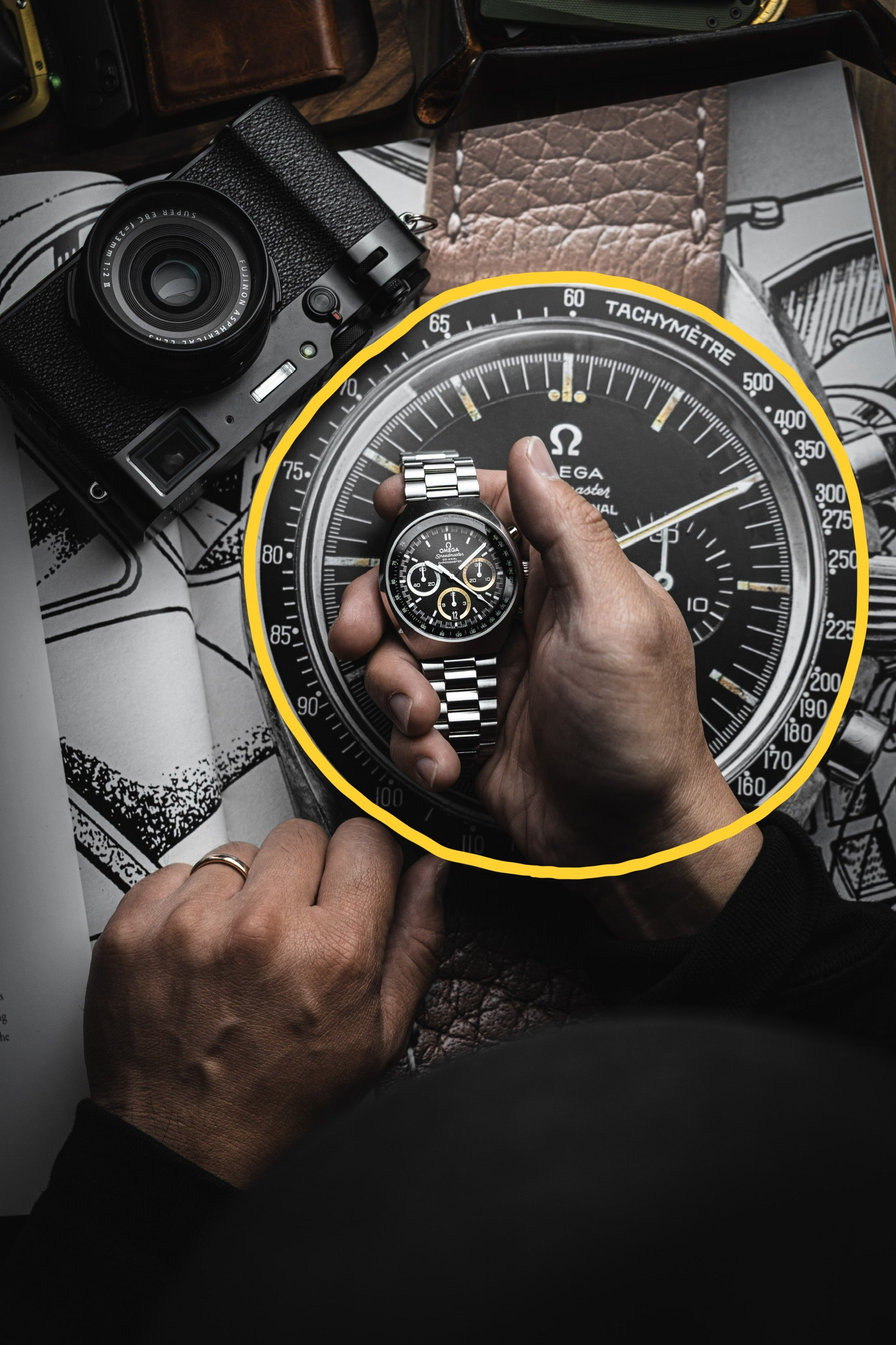How to use subframing in watch photography