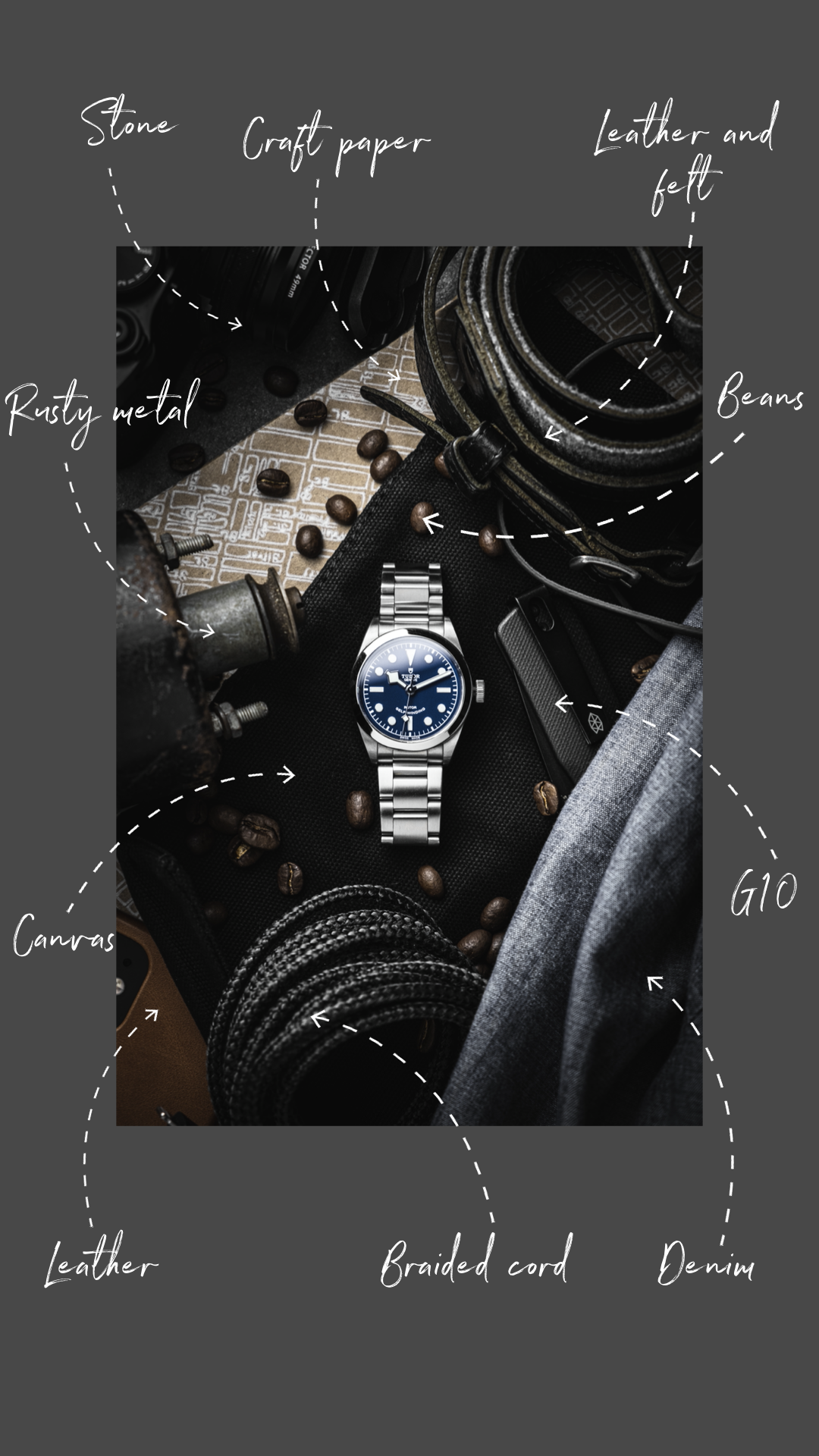 How to add grit to your watch photography