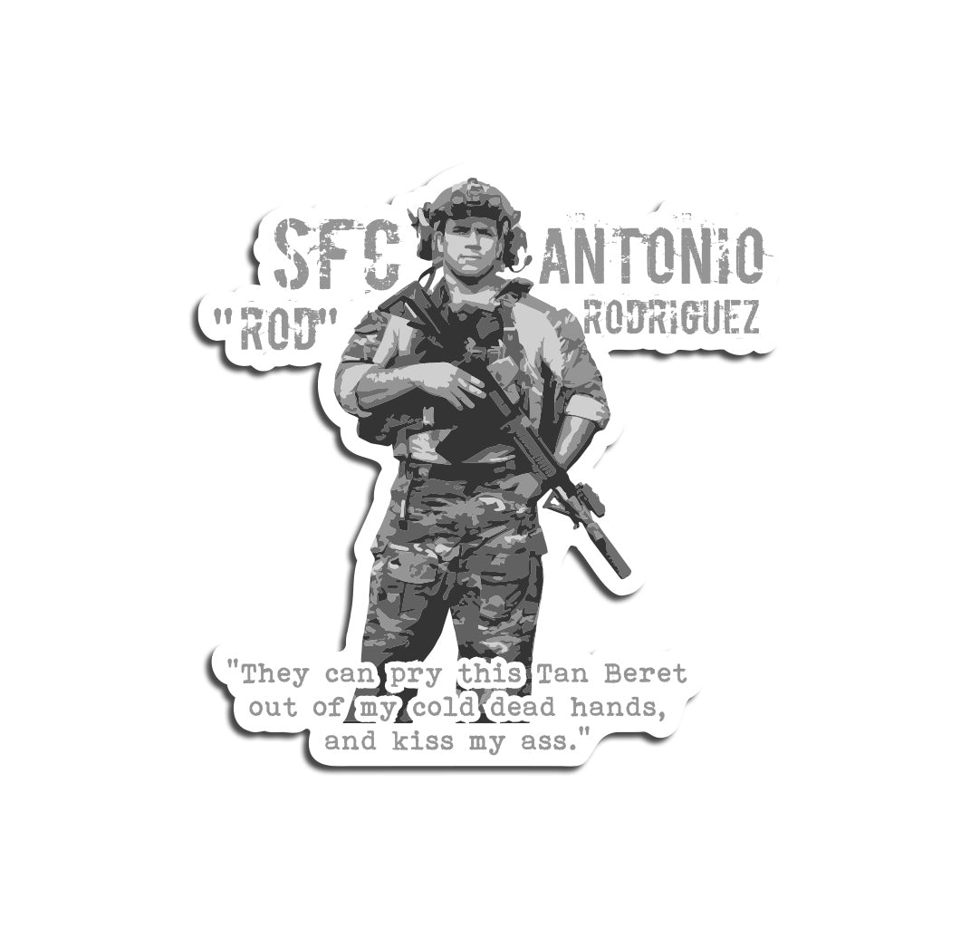 Rod Rodriguez Sticker