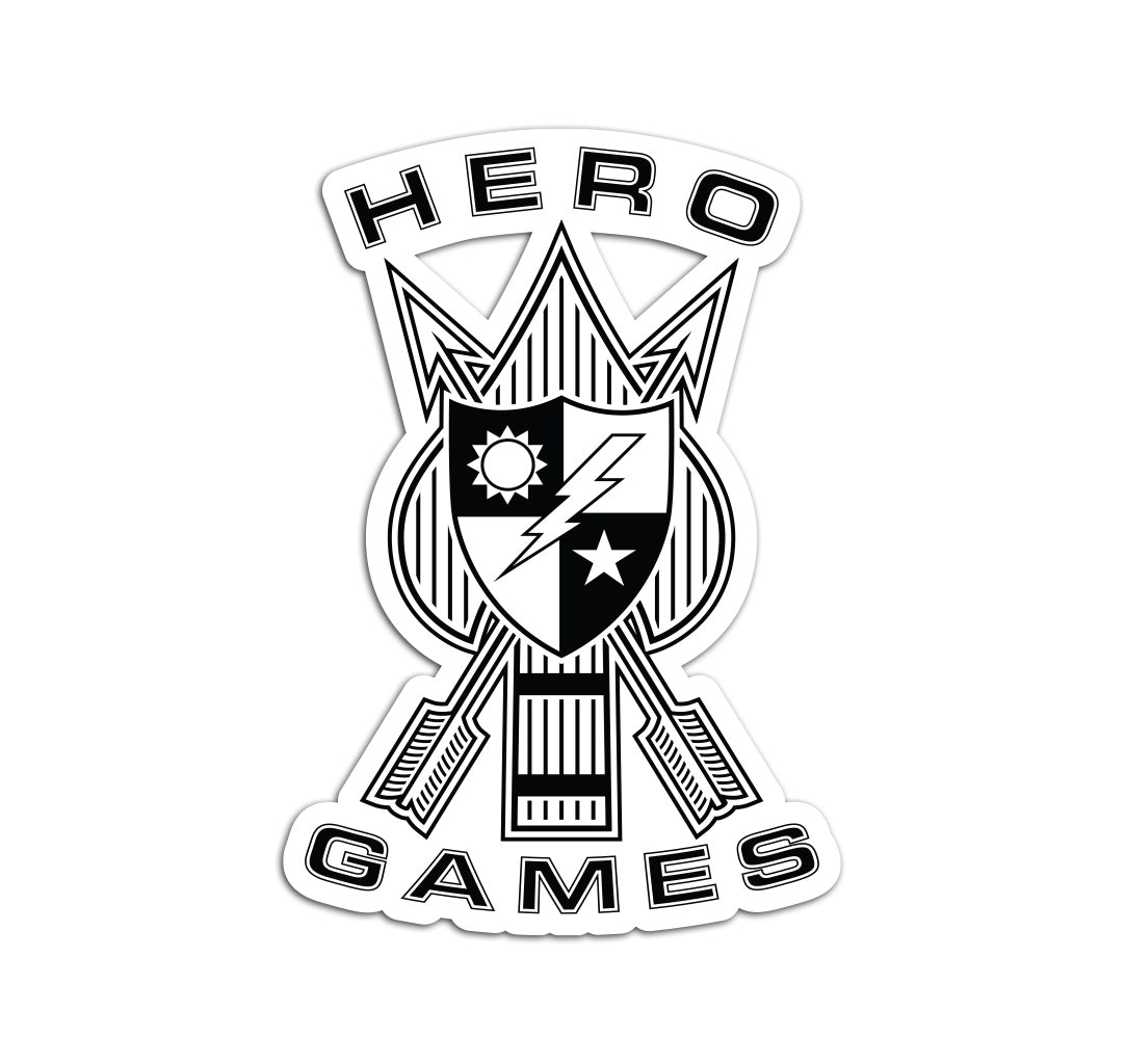 Hero Games Logo Sticker