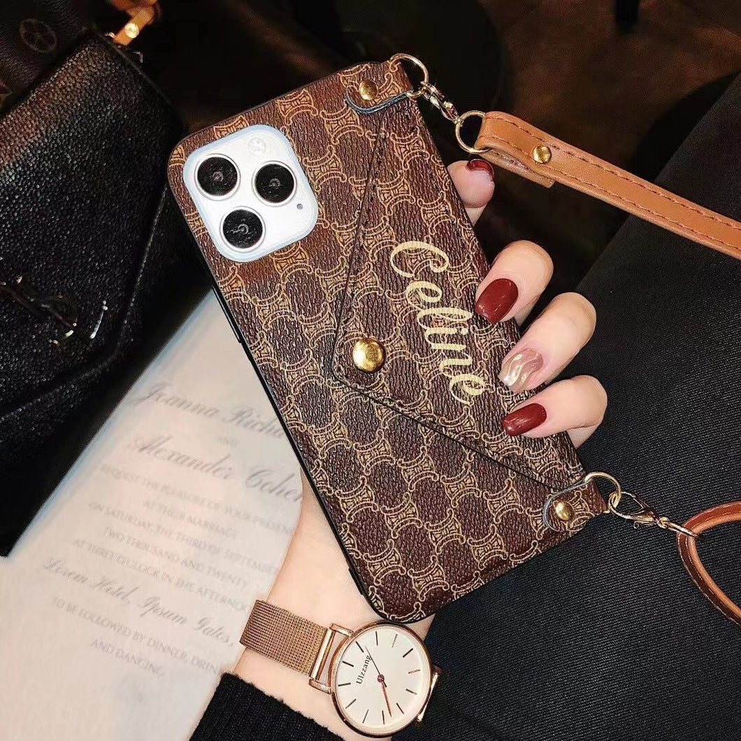 Luxry Hand Bag Letter Design Phone Case For Hua Wei Nova 7 Mate 30 Mate 40 P40 P30 Pro iPhone 12 11 Pro Max XR XS MAX X 8 Plus 7G Cell Phone Cover