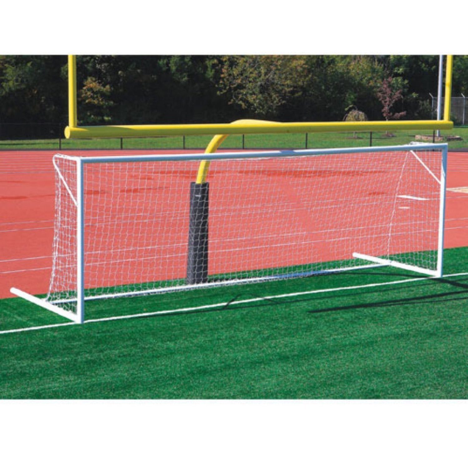 Kwik Goal FUSION 120 Soccer Goal with Wheels 8x24x3x8