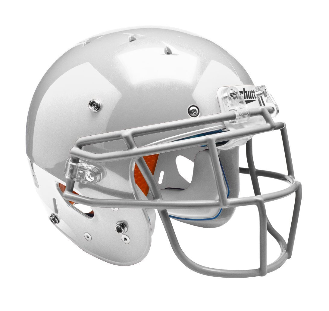 0d5fe27aab11 Schutt Youth Recruit Hybrid Plus Football Helmet (No Mask) White L ...