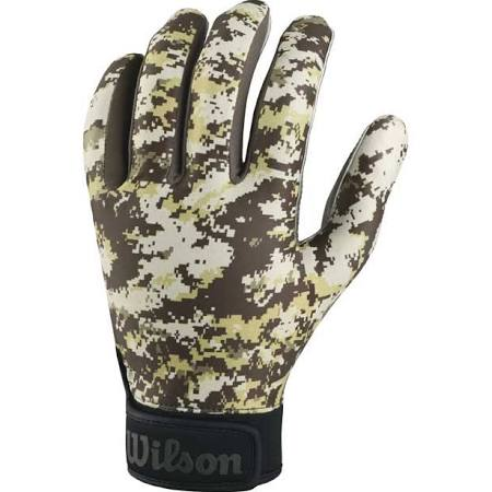 WTF9330 WILSON SPECIAL FORCES RECEIVING GLOVES CAMO