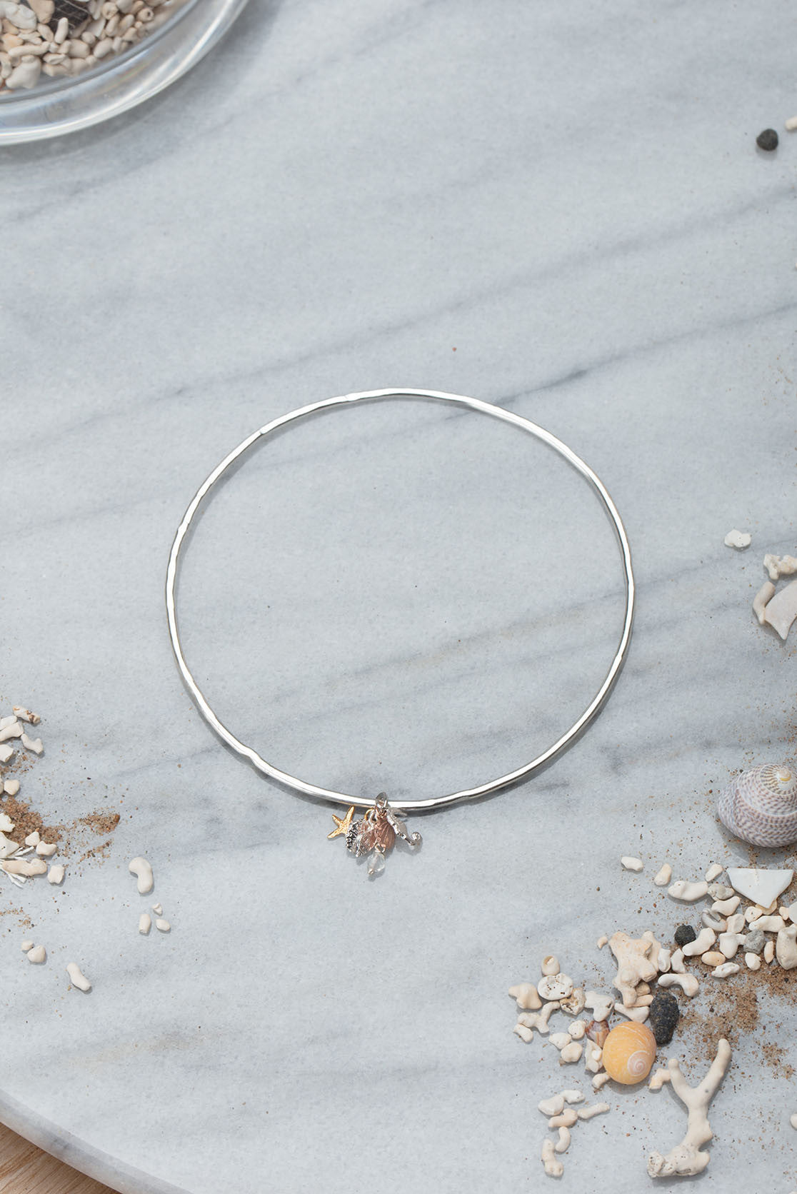 Seaside Cluster Bangle
