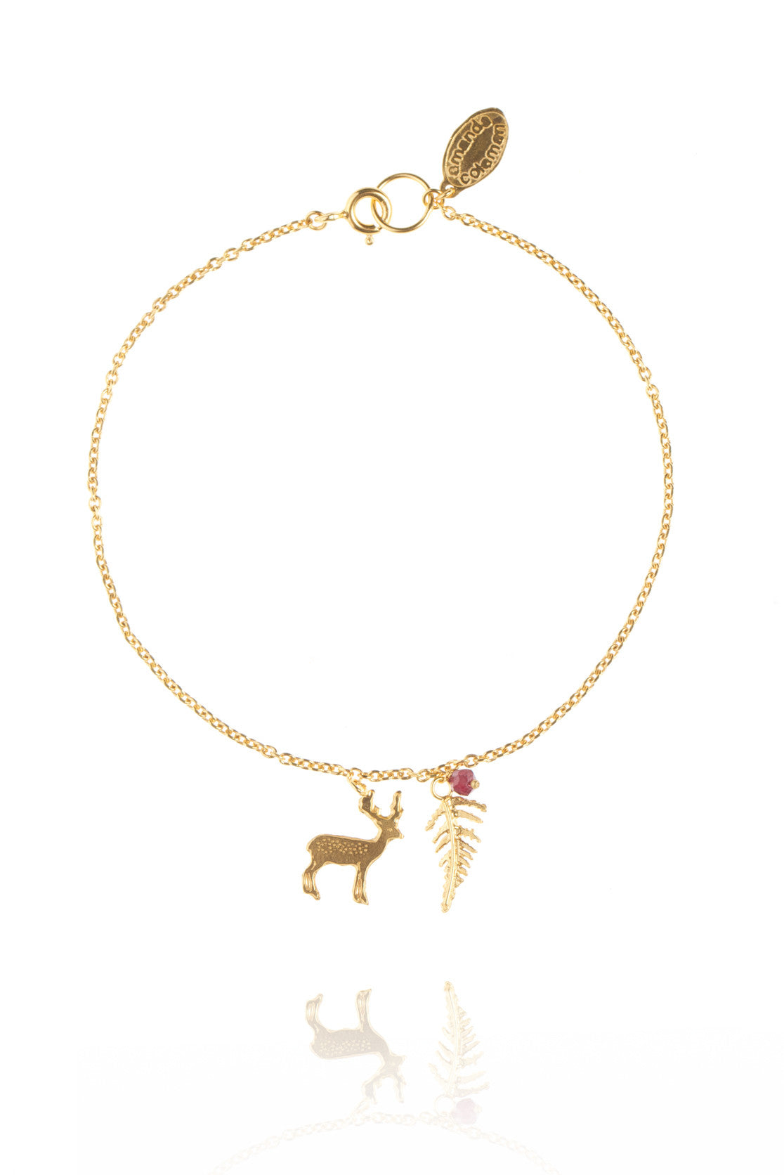 Dainty Enchanted Forest Bracelet