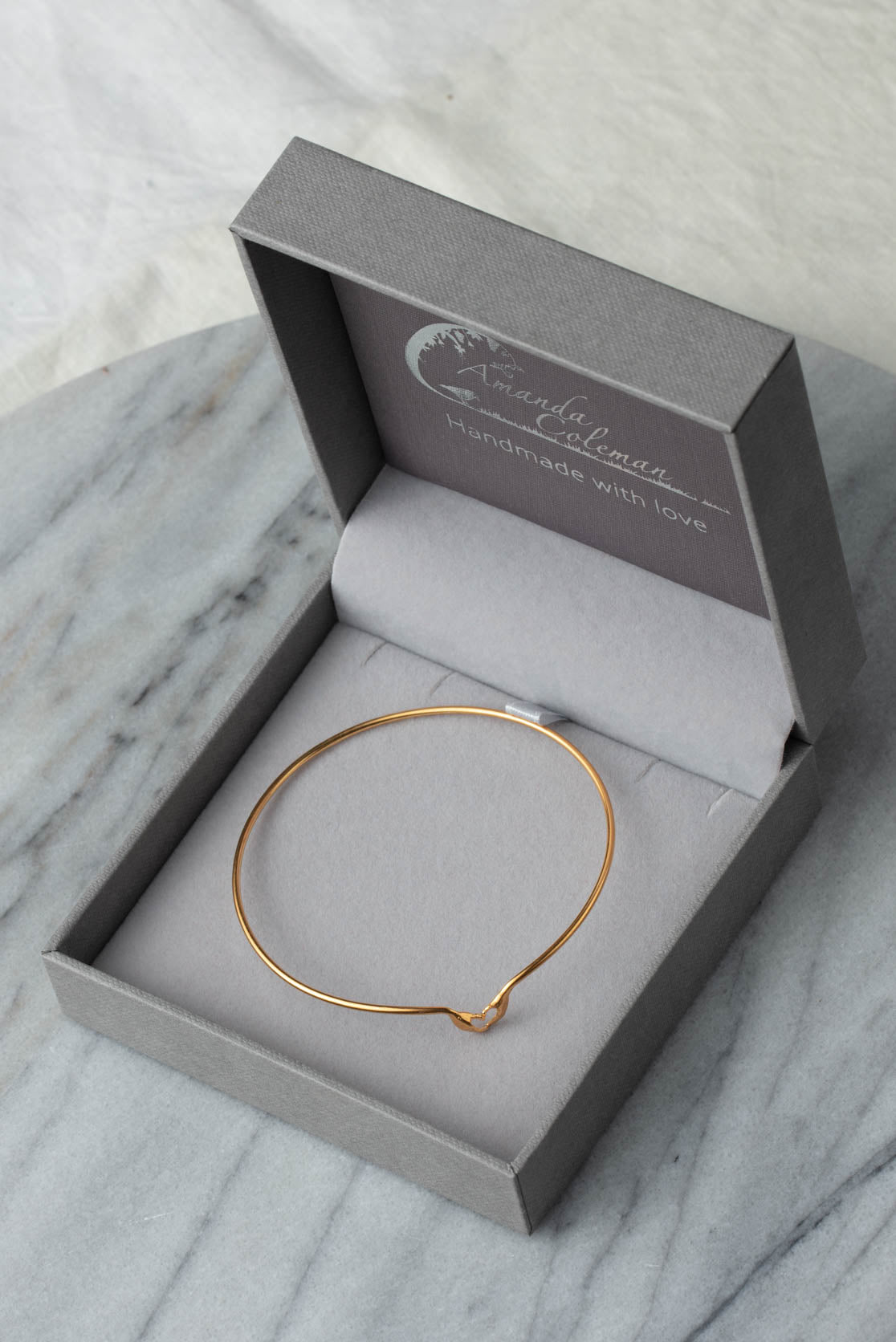 My Heart In Your Hands Bangle