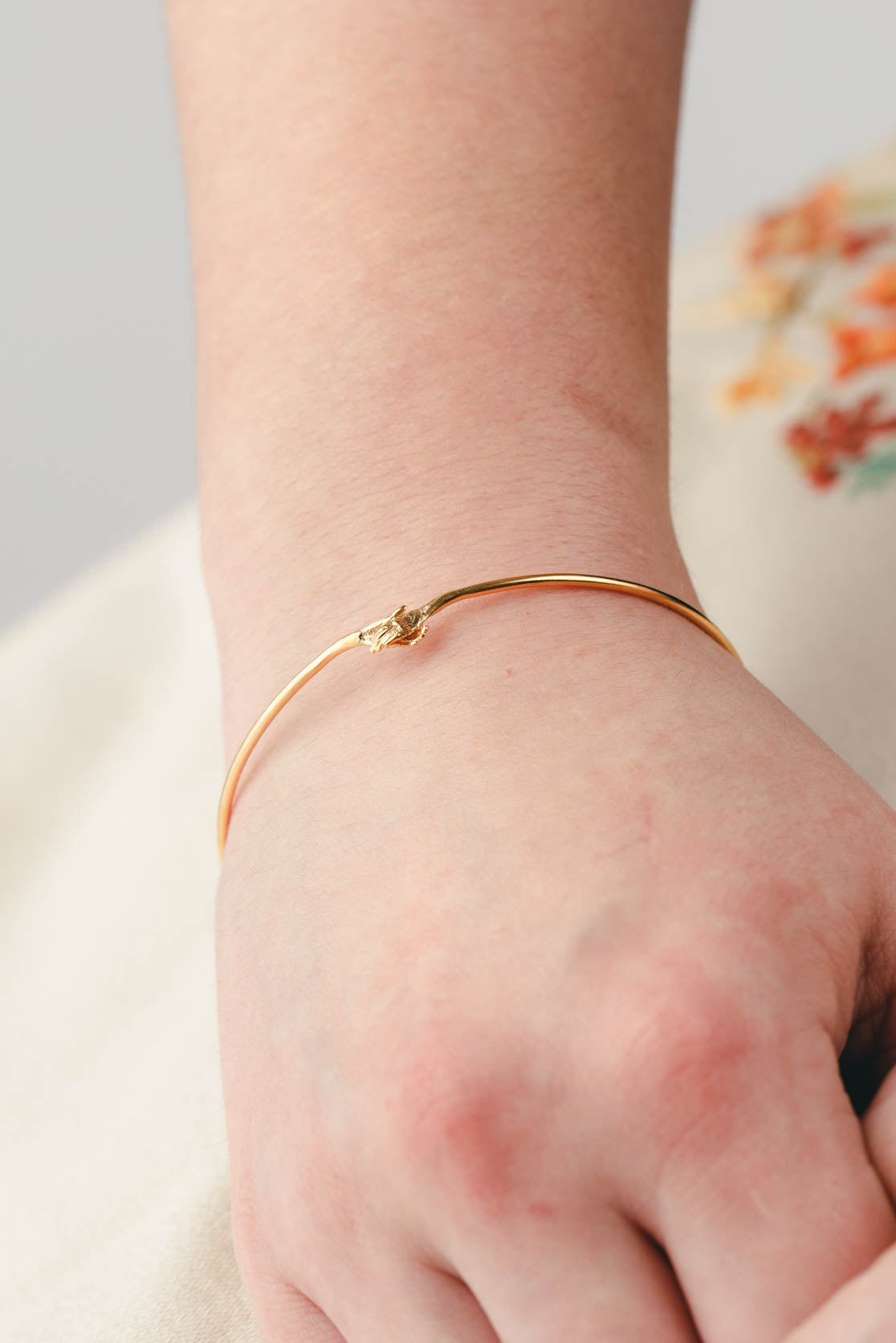 Holding Hands Bangle