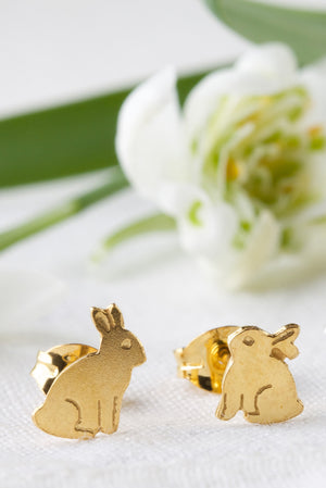 Bunny Stud Earrings