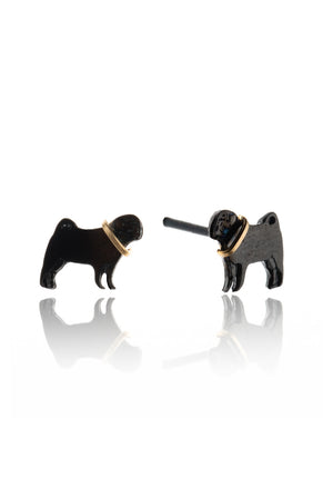 Pug Stud Earrings