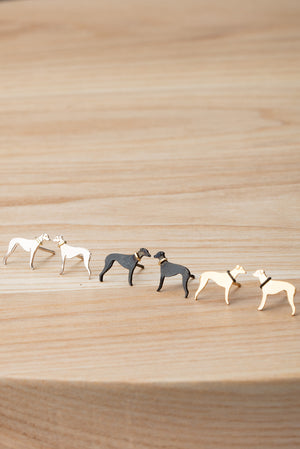Whippet Stud Earrings