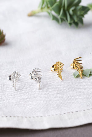 Fern Stud Earrings