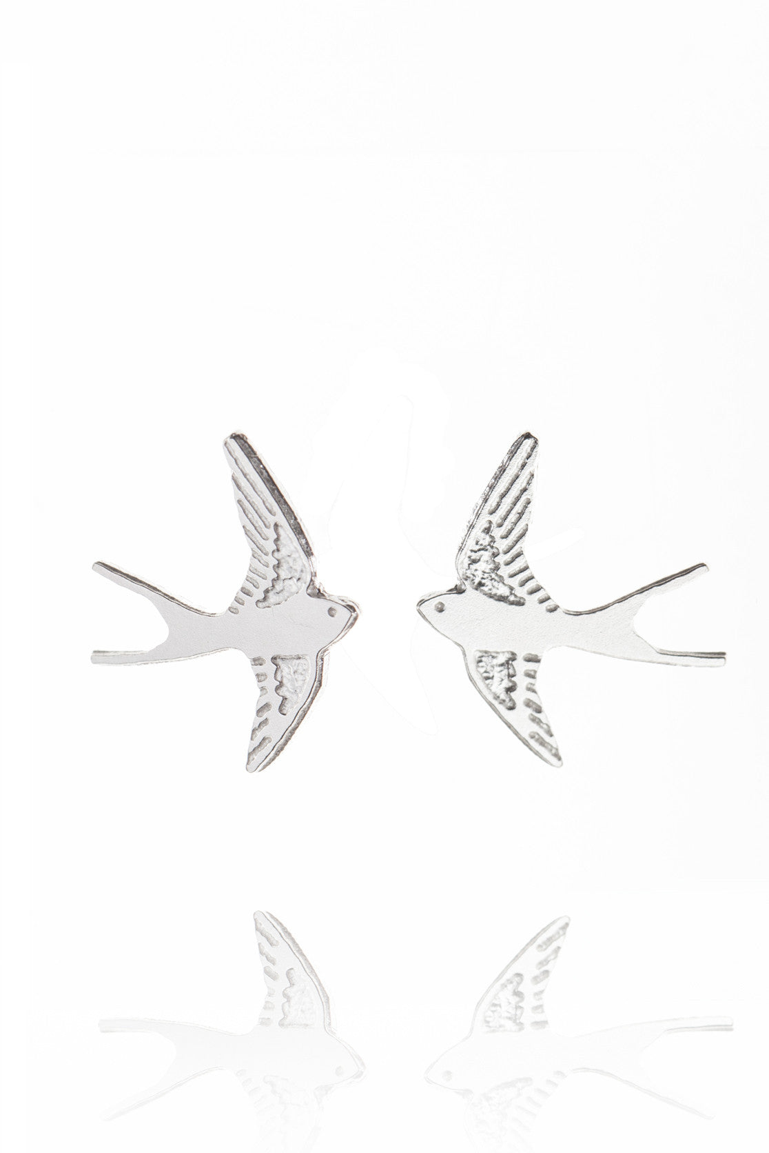 Swallow Stud Earrings