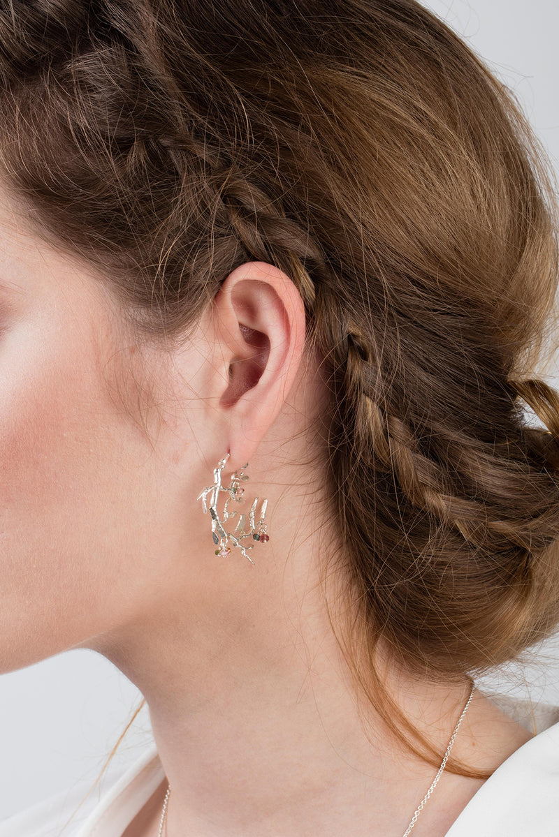 Bird In A Tree Earrings