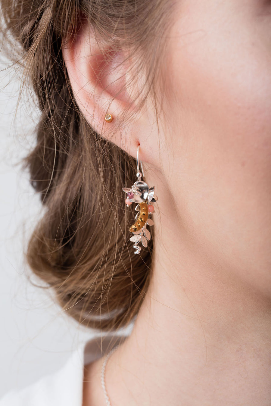 Sweet Pea Drop Earrings
