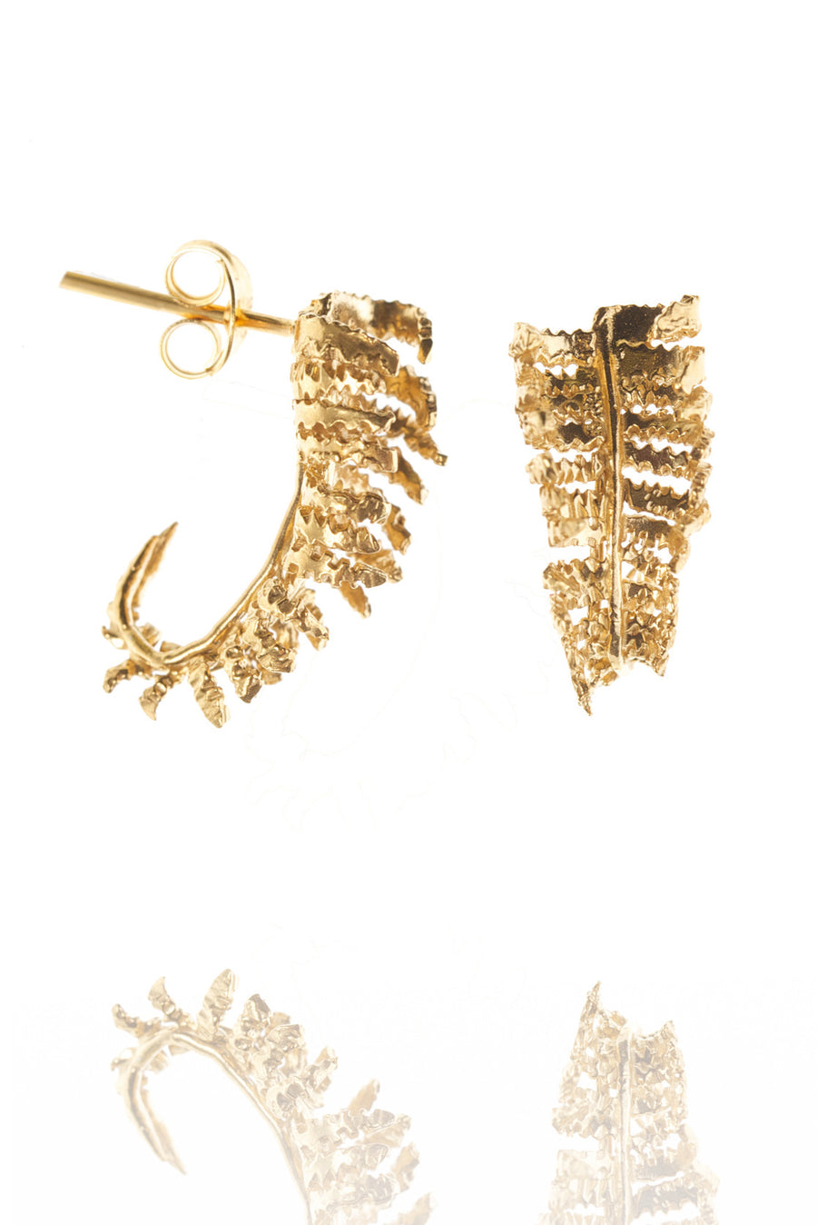 Unfurling Fern Earrings
