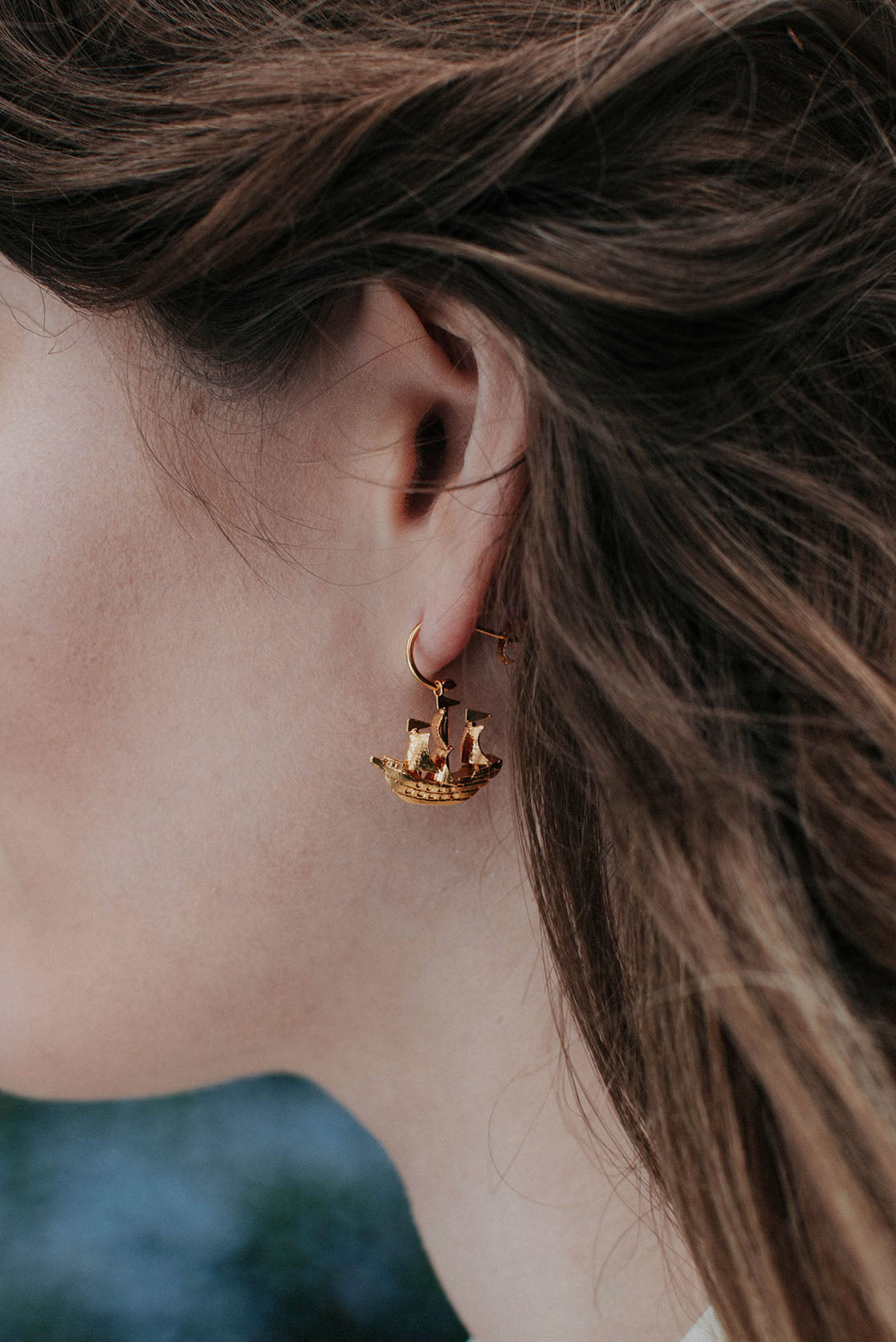 Galleon Earrings