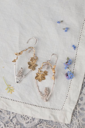 Foxglove earrings