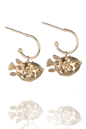 Puffa Fish Earrings