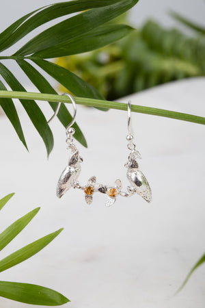 Cockatoo Hook Earrings