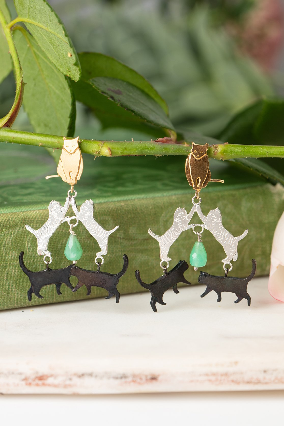 crazy cat jewellery