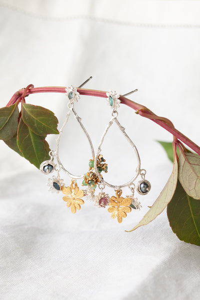 Jungle fruit earrings