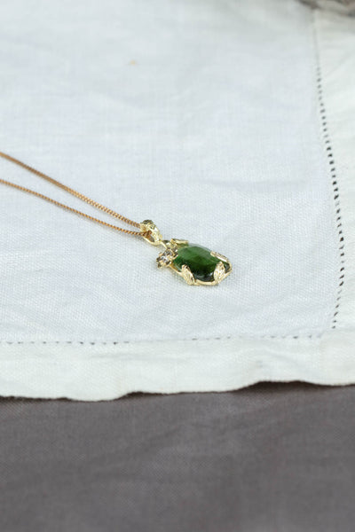 18ct Gold Dimminsdale pools - Diamond necklace (number one)