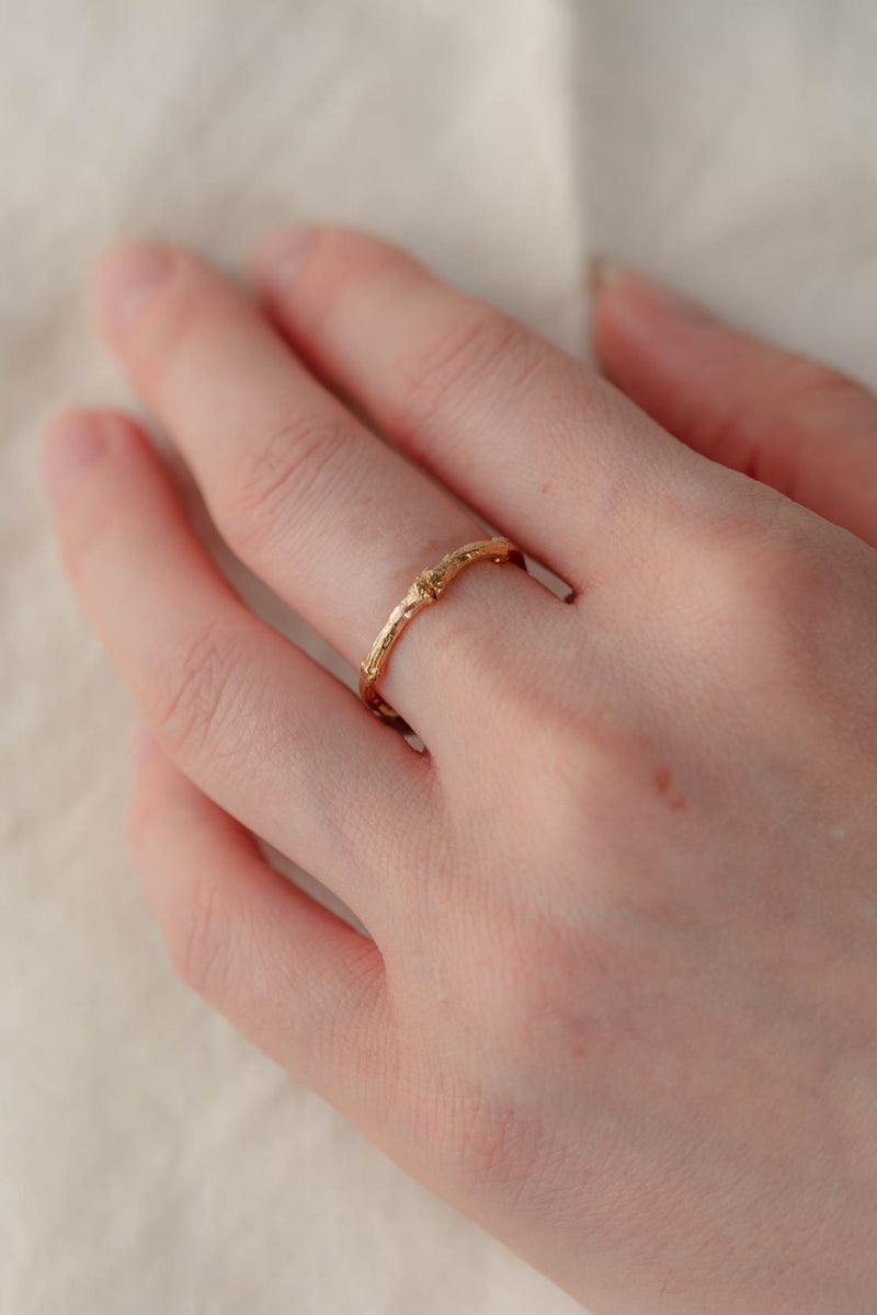 18ct Gold Forest Ring