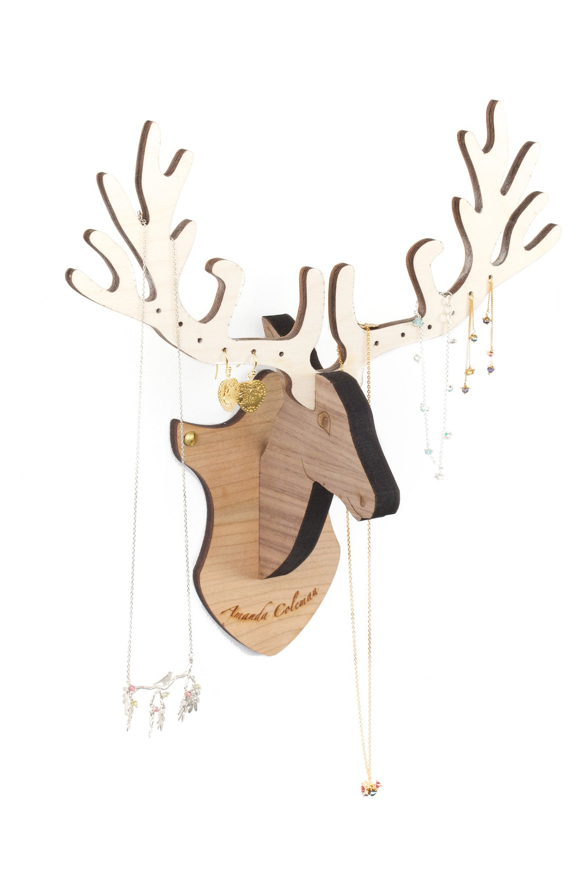 Wall Mounted Deer Jewellery Stand