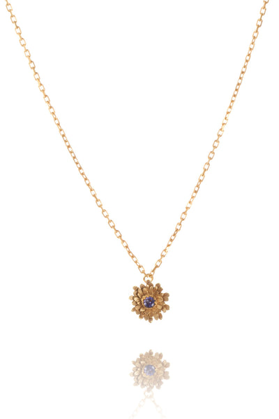 22ct Gold Vermeil with iolite