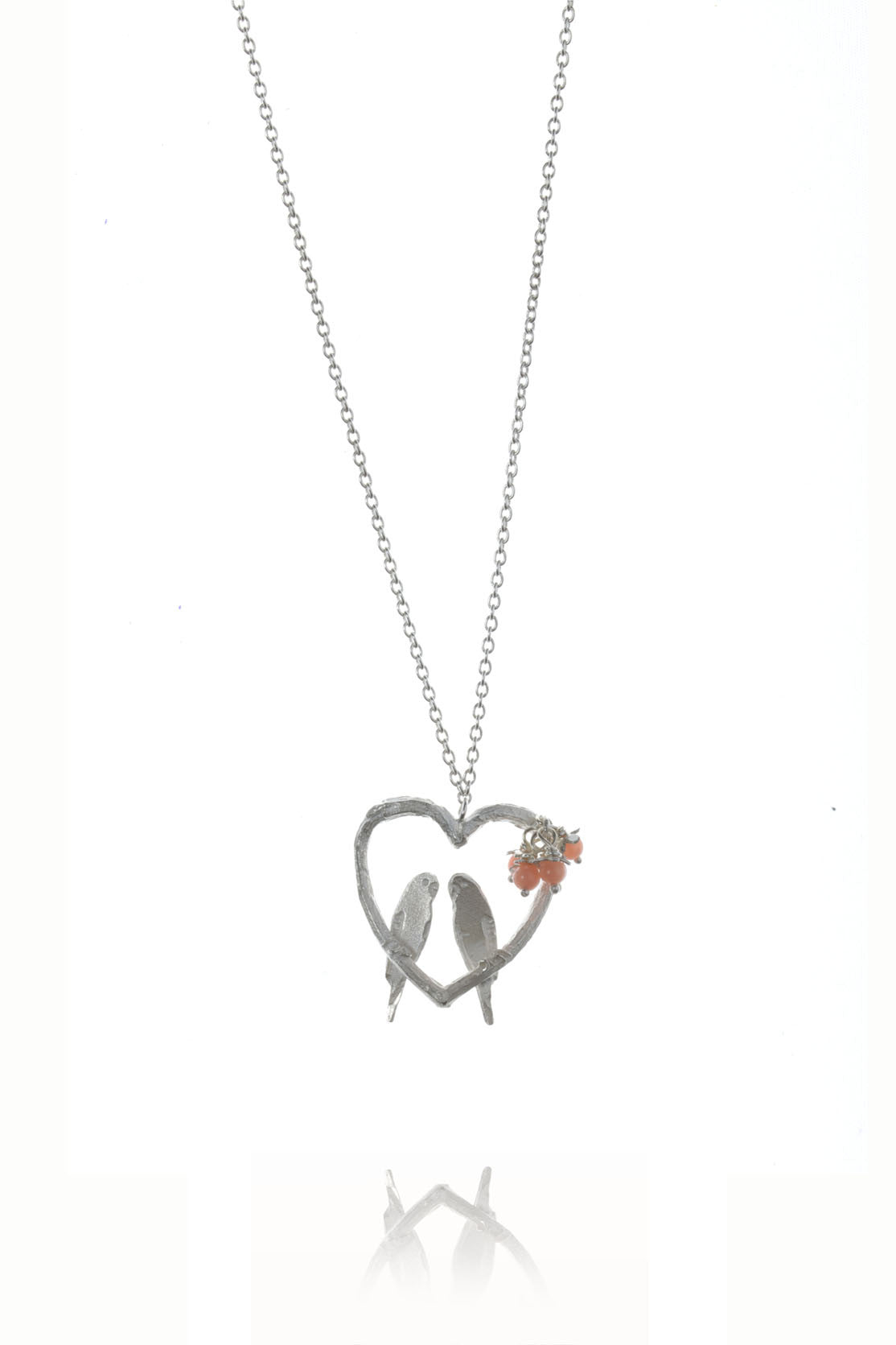 pointe bird library love necklace gold virtual sandi collections of