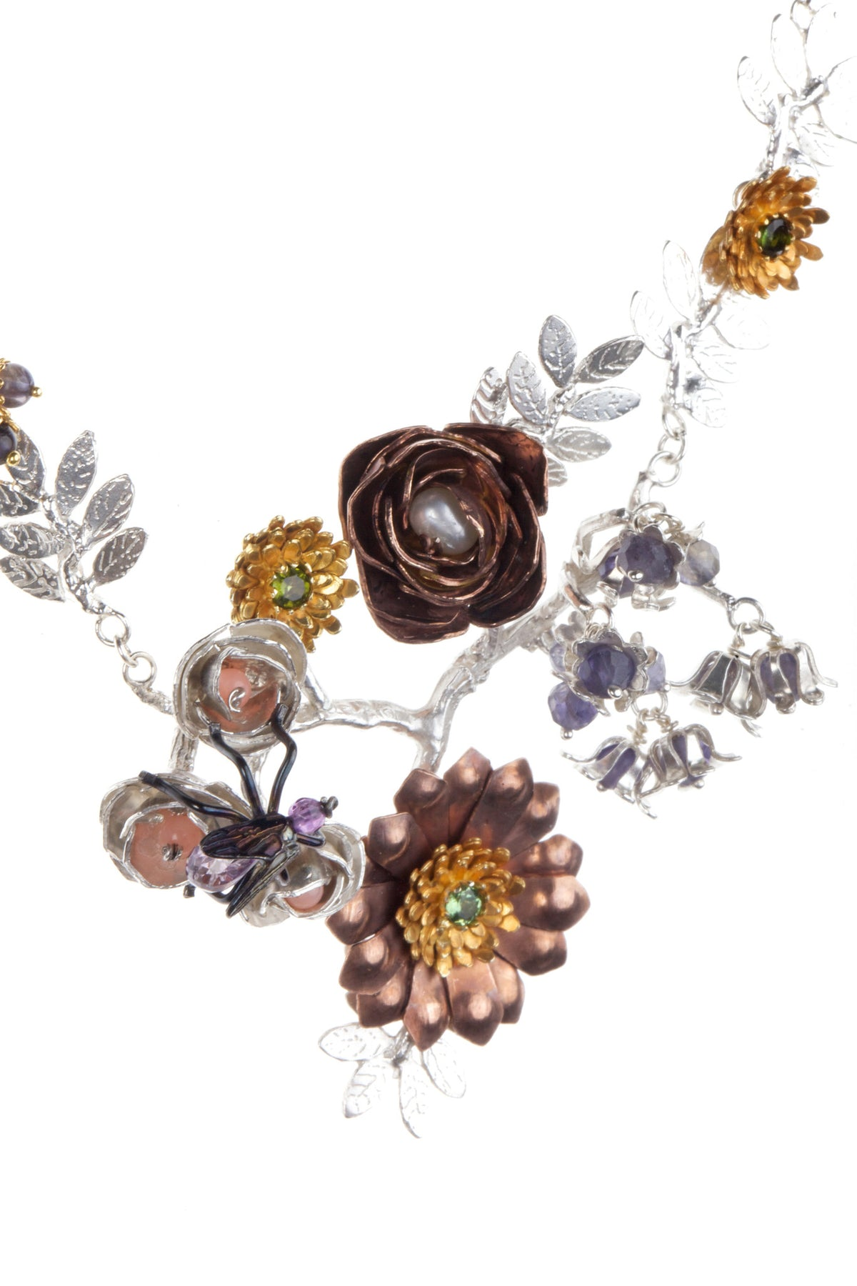 Floral Arrangement Necklace