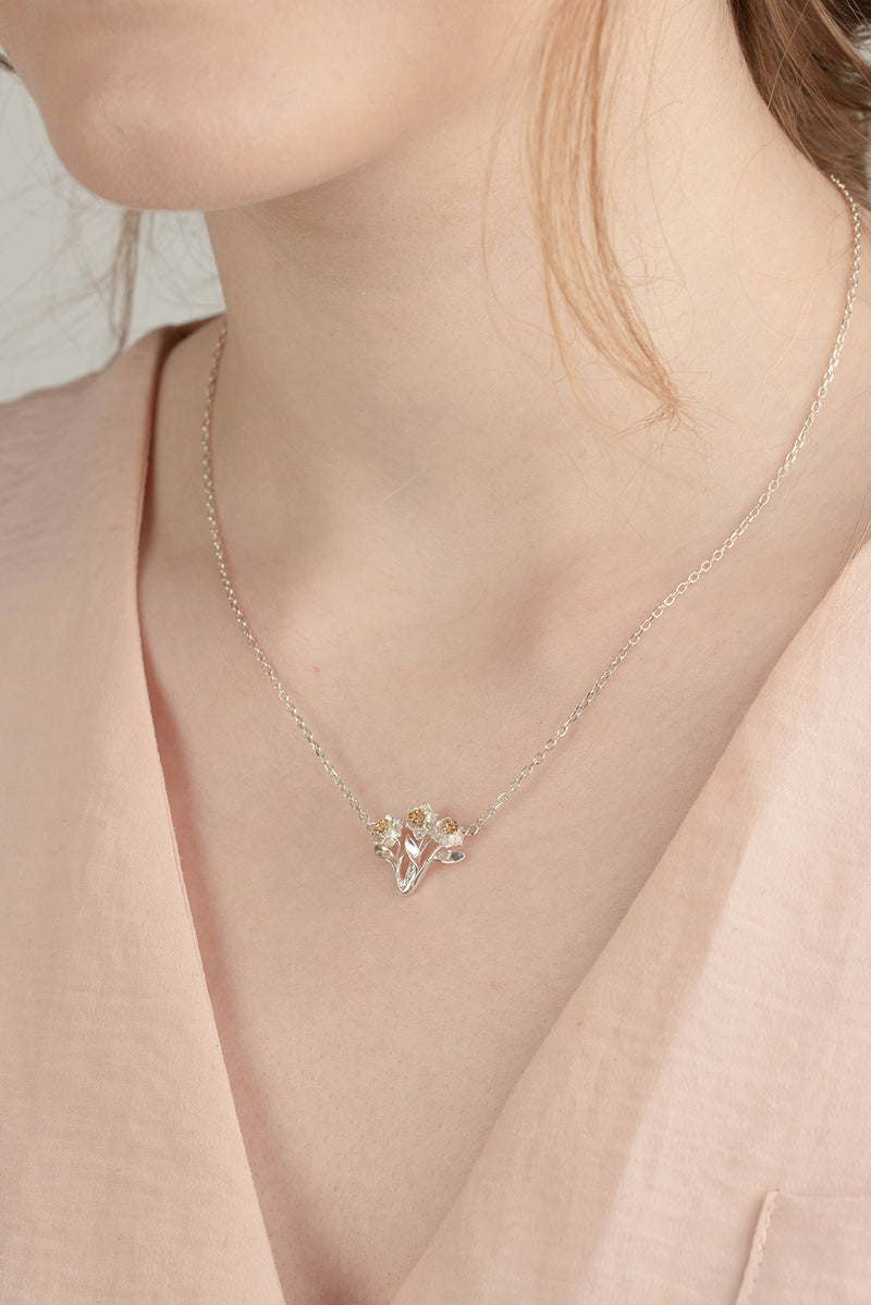 Bunch Of Daffodils Pendant