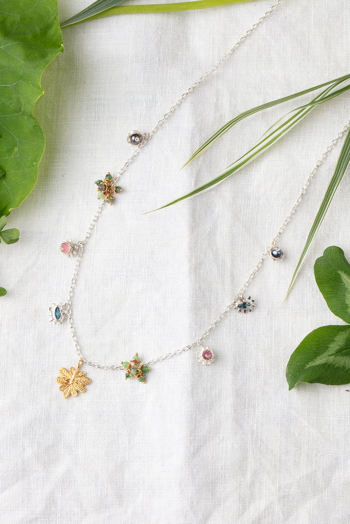 Jungle fruit necklace