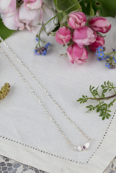 blossom flower necklace