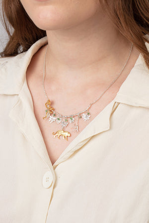 Rousseau statement necklace