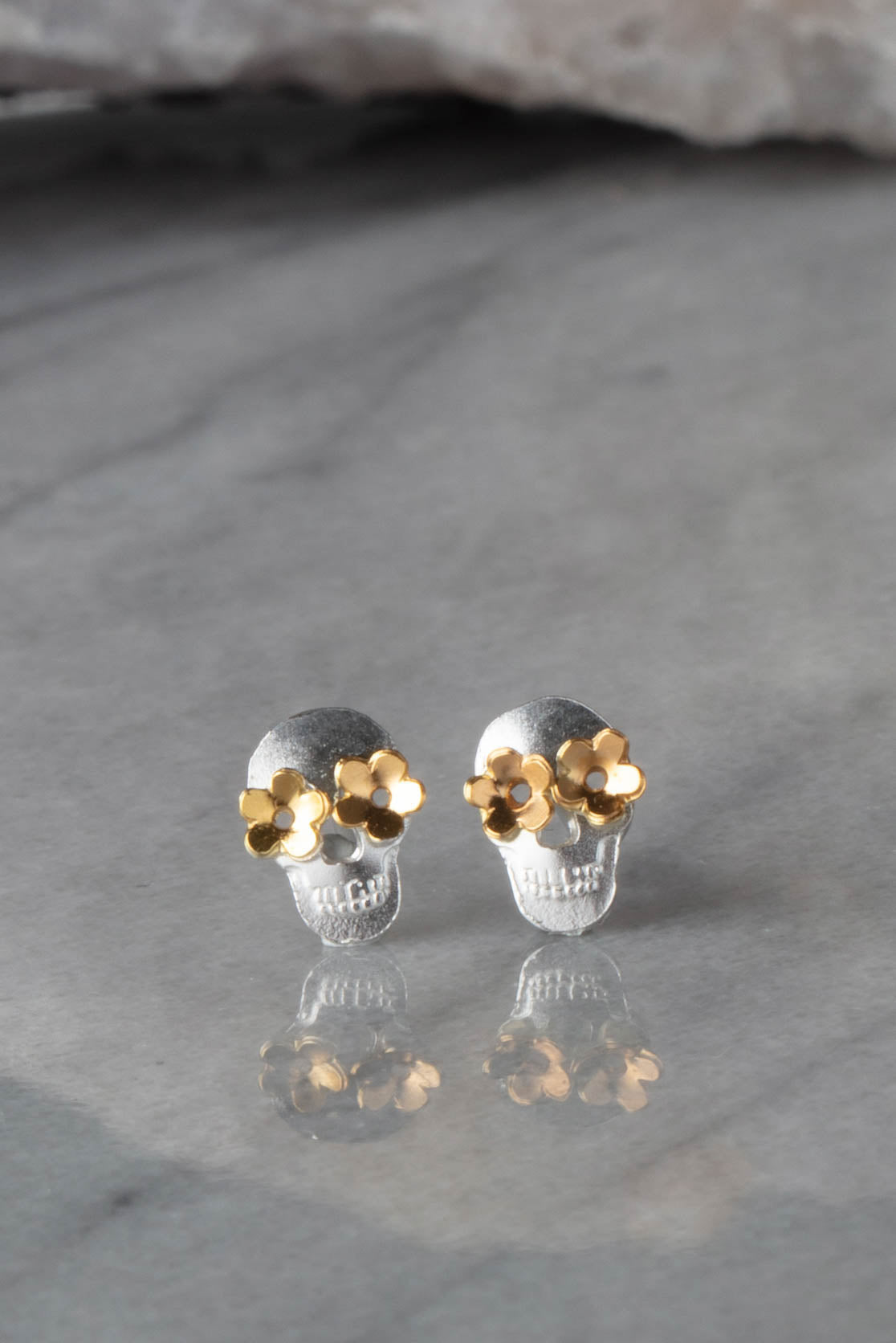 Day Of The Dead Stud Earring - Stud Of The Month - delivery 29th-31st October