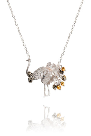 925 Sterling Silver with pyrite