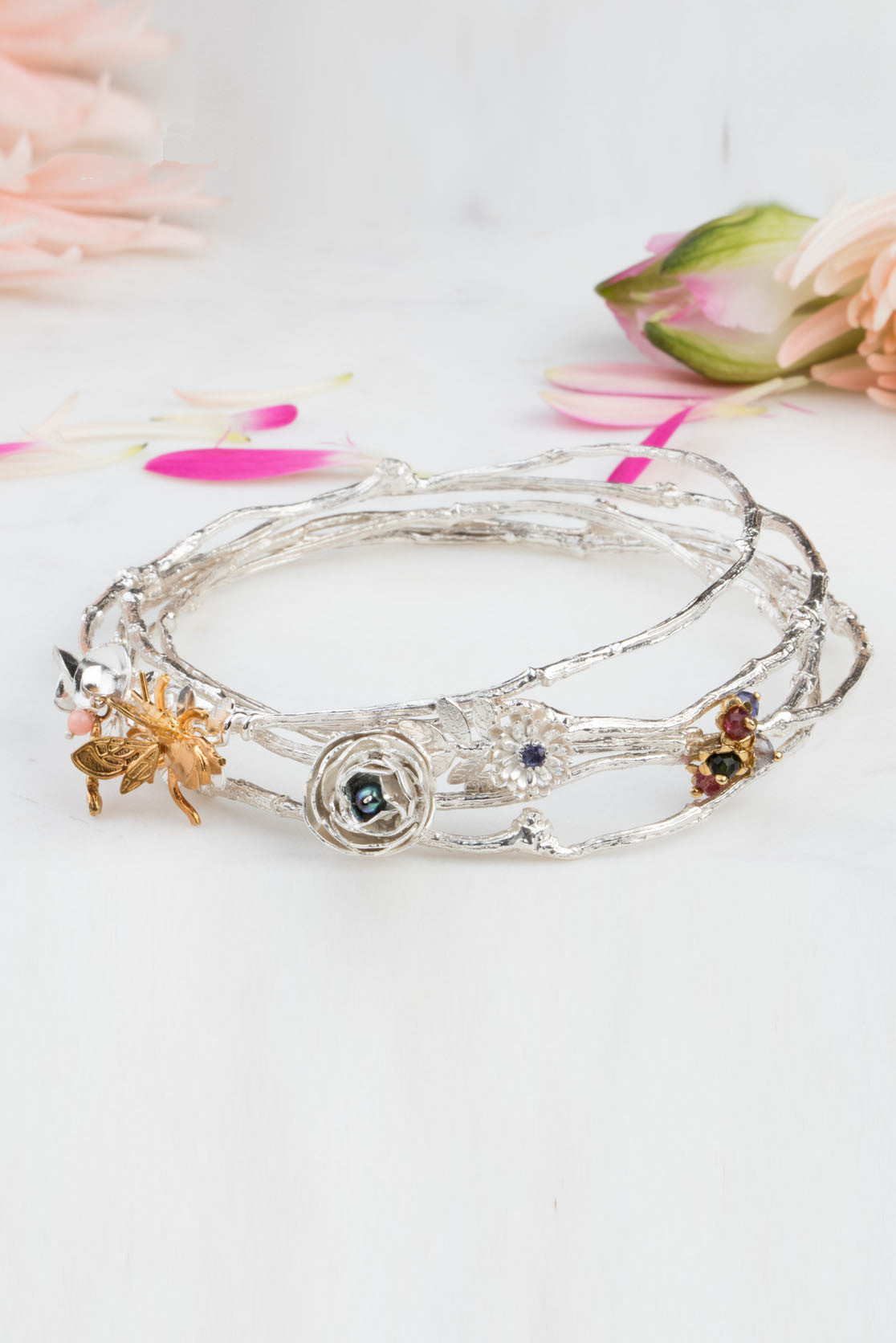 four plus country garden bangle